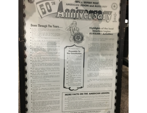 ANNIVERSARY POSTER:  50 YEARS FOR GOD AND COUNTRY