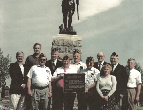 REDEDICATION OF THE DOUGHBOY STATUE